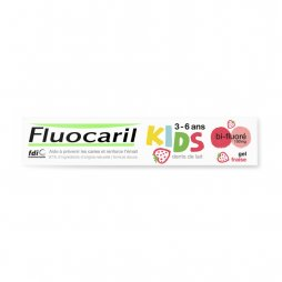 Fluocaril Dentífrico Kids Gel Fresa