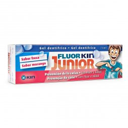Flúor Kin Junior Gel Fresa