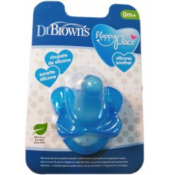 Dr Brown´S Chupete Silic. Azul +0 1ud