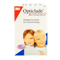 3M Opticlude Grande 20 Parches