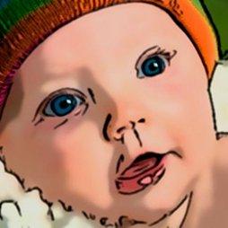 Cuidado cara del bebé