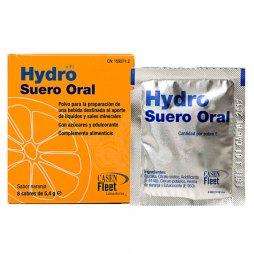 Hydro Suero Oral Naranja 8 Sobres 5,4gr