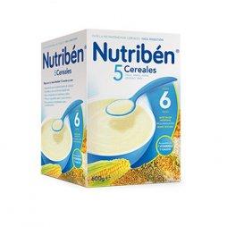 Nutriben Papilla 5 Cereales 600g