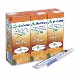 Bioralsuero Naranja Pack 3X200ml