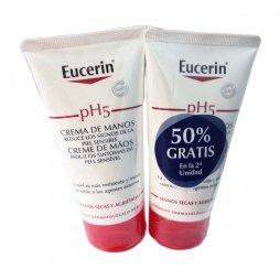 Eucerin Crema Manos Duplo 75