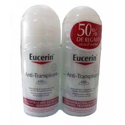 Eucerin Desodorante Roll On Duplo antitranspirante forte