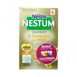 Nestle Nestum Expert 8 Cereales Miel 600g +Calcetines