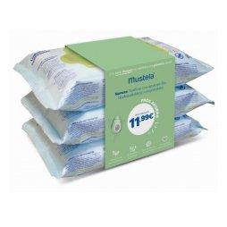 Mustela Trío Pack 210 uds