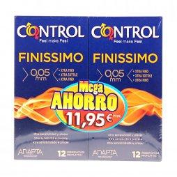 Control Finissimo 12+12 Pack Mega Ahorro