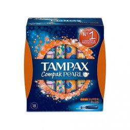 Tampax Compak Pearl Super Plus 18