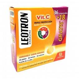 Leotron Vit C 36 Comp+18 Comp Gratis
