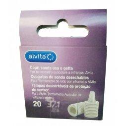 Alvita Cubiertas Desechables Termómetro Infrarrojos 20ud