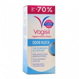 Vagisil Higiene Intima Odor Block 2ª ud 70% dto