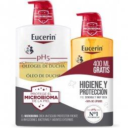 Eucerin Pack Oleogel 1000ml +400ml