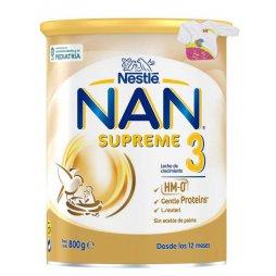 Nestle Nan 3 Supreme 800gr + Babero con mangas