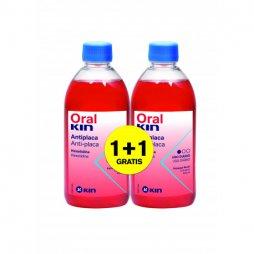 Oral kin Enjuague 500ml 2X1