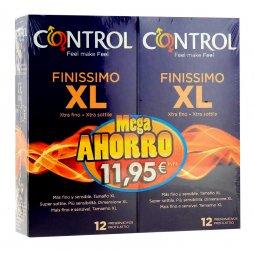 Control Finissimo XL 12+12 Pack Mega Ahorro
