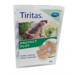 Tiritas Protect Plus 30uds