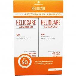 Heliocare Advanced Gel Protector SPF50 2x200ml