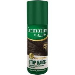 Farmatint Spray Cubre Raíces Castaño Oscuro 75ml