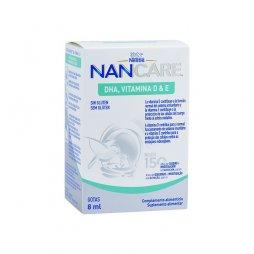 Nestle Nancare DHA Vitamina D & E 8ml