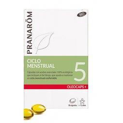 Pranarom Oleocaps 5 Ciclo Menstrual 30 Capsulas