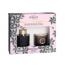 Berger Caja Mikado 80ml + Vela Black Cristal