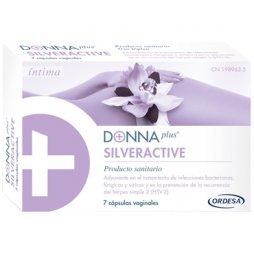 Donna Plus Silveractive 7 Cápsulas Vaginales